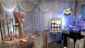 Event Wall Draping Hire