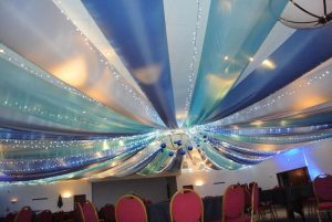 Wall and Ceiling Draping Hire