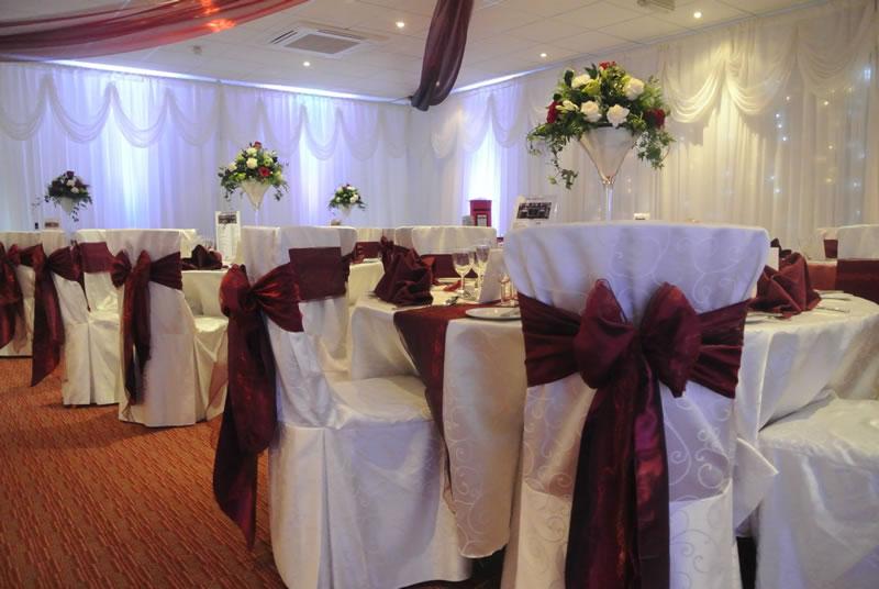 Wedding chair covers & sashes Milton Keynes