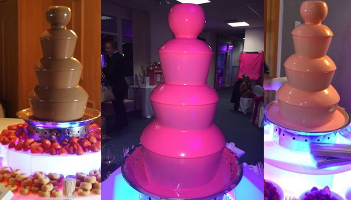 Chocolate Fountain Centrepieces